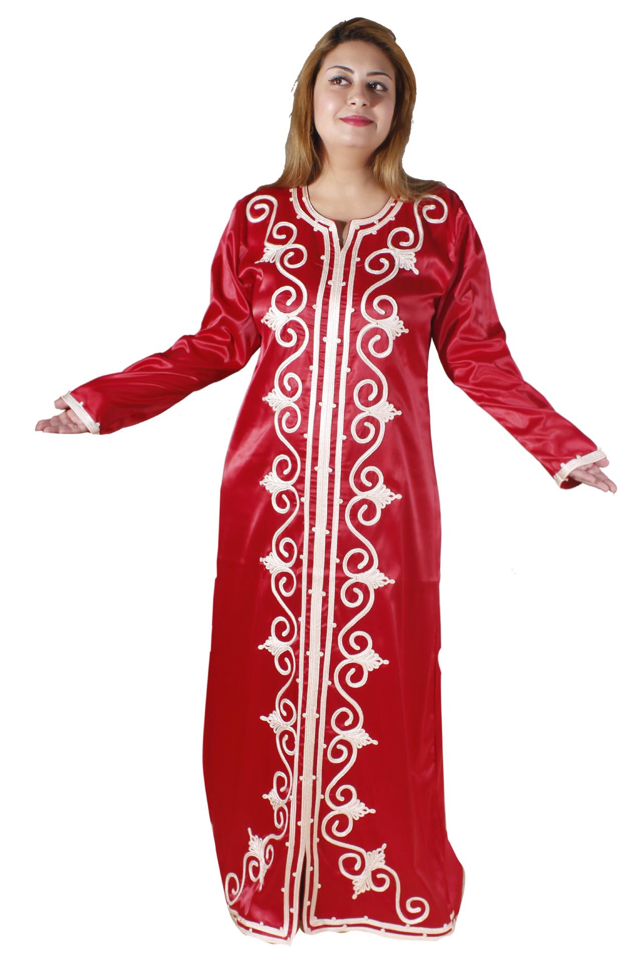 abaya rot egypt bazar shop f r orientalische arabische kleidung. Black Bedroom Furniture Sets. Home Design Ideas