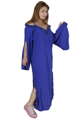 Abendkleid in blau