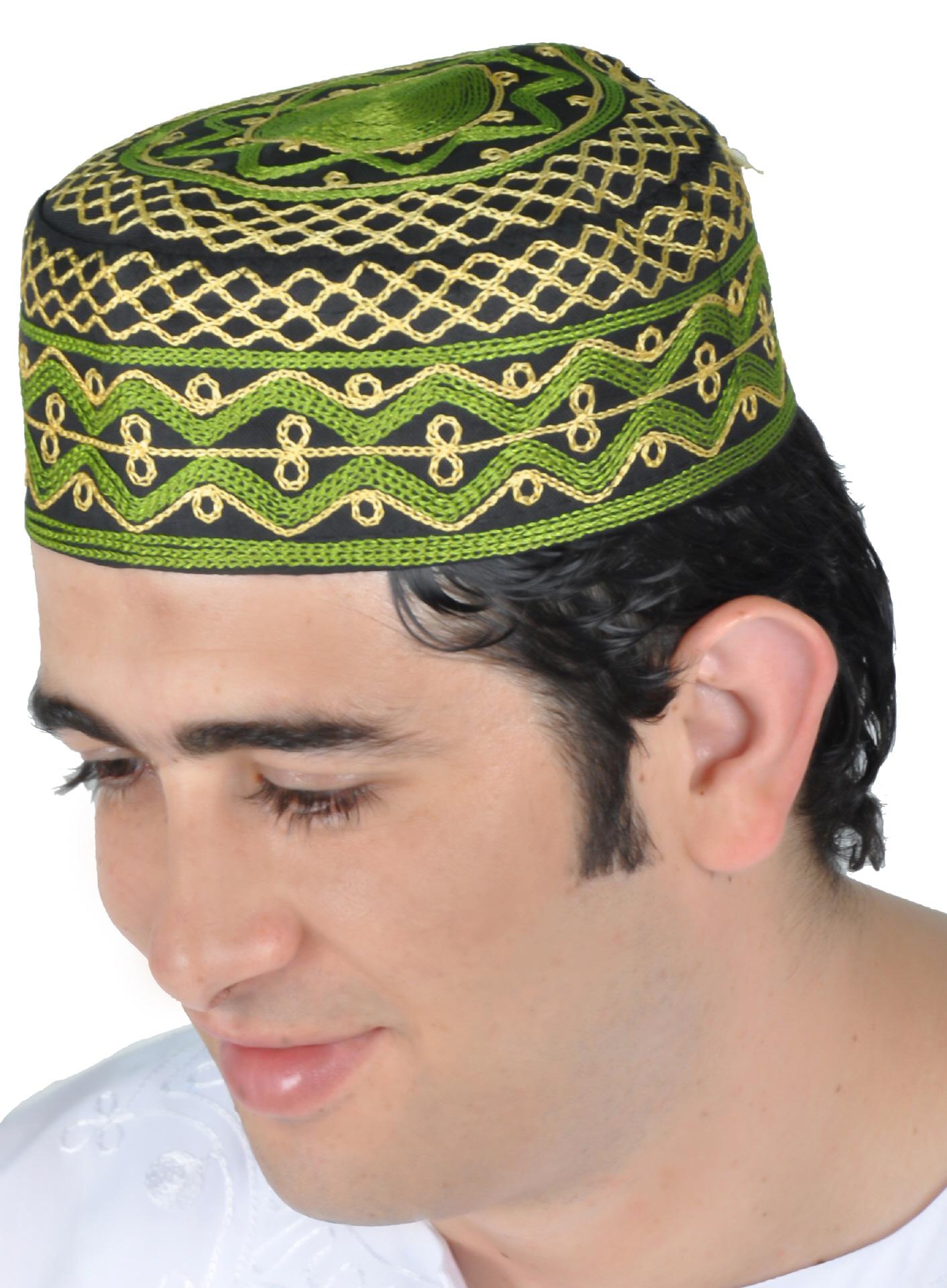Arabische traditionelle Kopfbedeckungen Turban Head