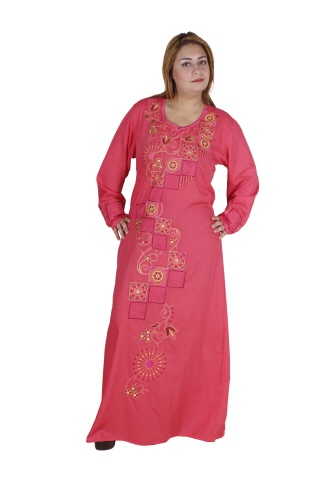 Damen-Kaftan in rosa