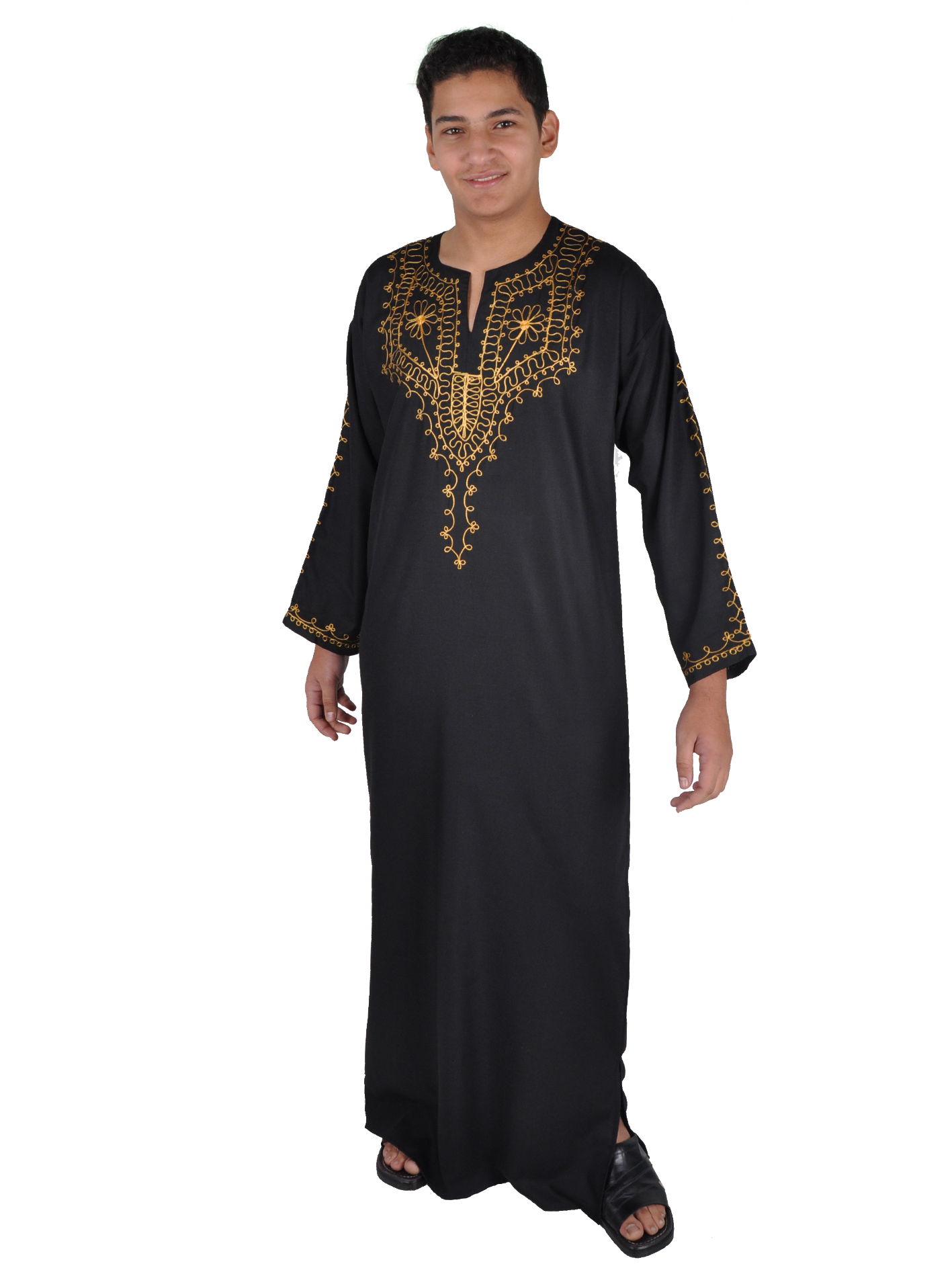 herren kaftan arabische herren kleider egypt bazar onlineshop. Black Bedroom Furniture Sets. Home Design Ideas