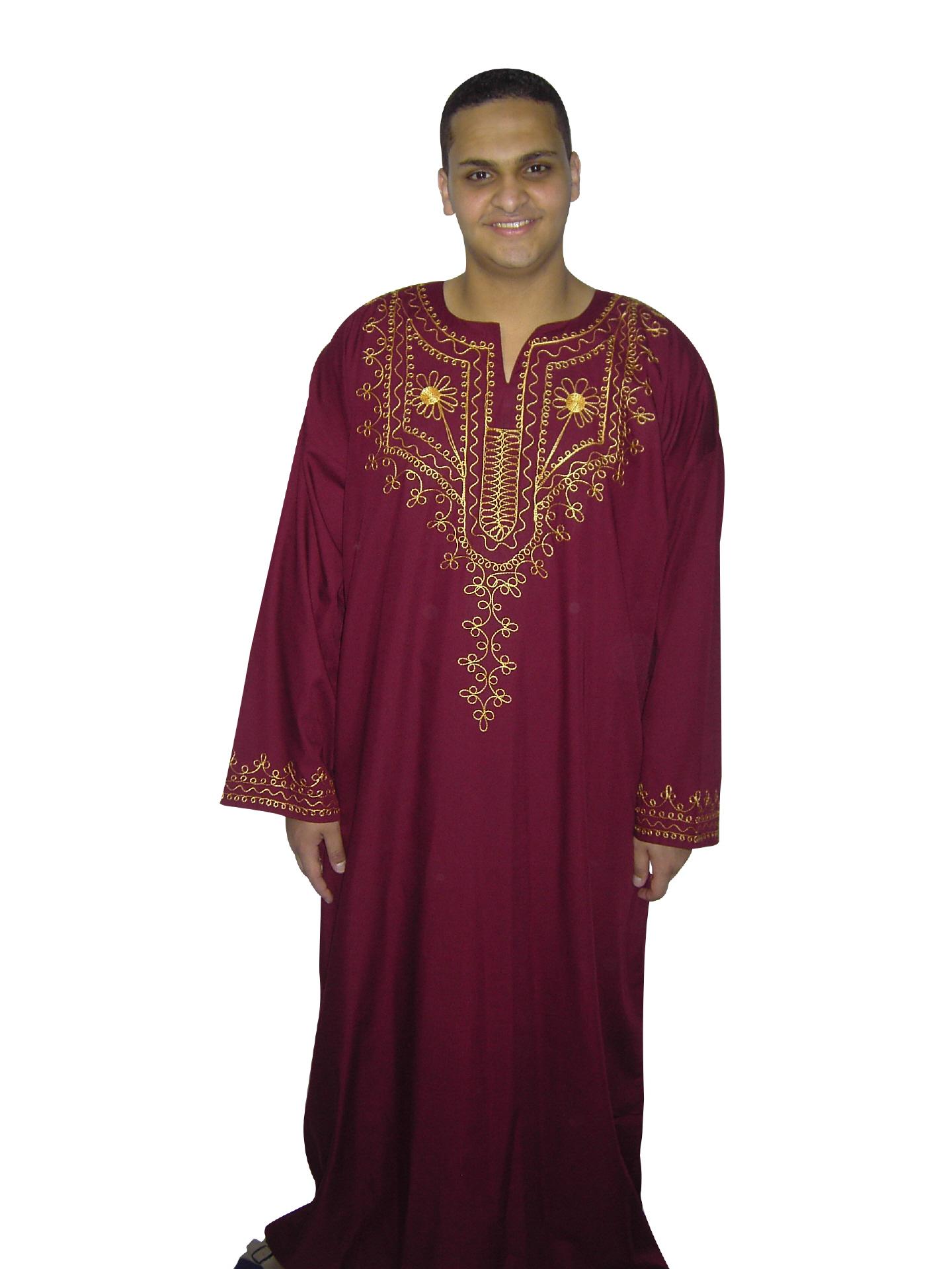 Herren Kaftan - Hauskleid - Orientalische Herren Bekleidung