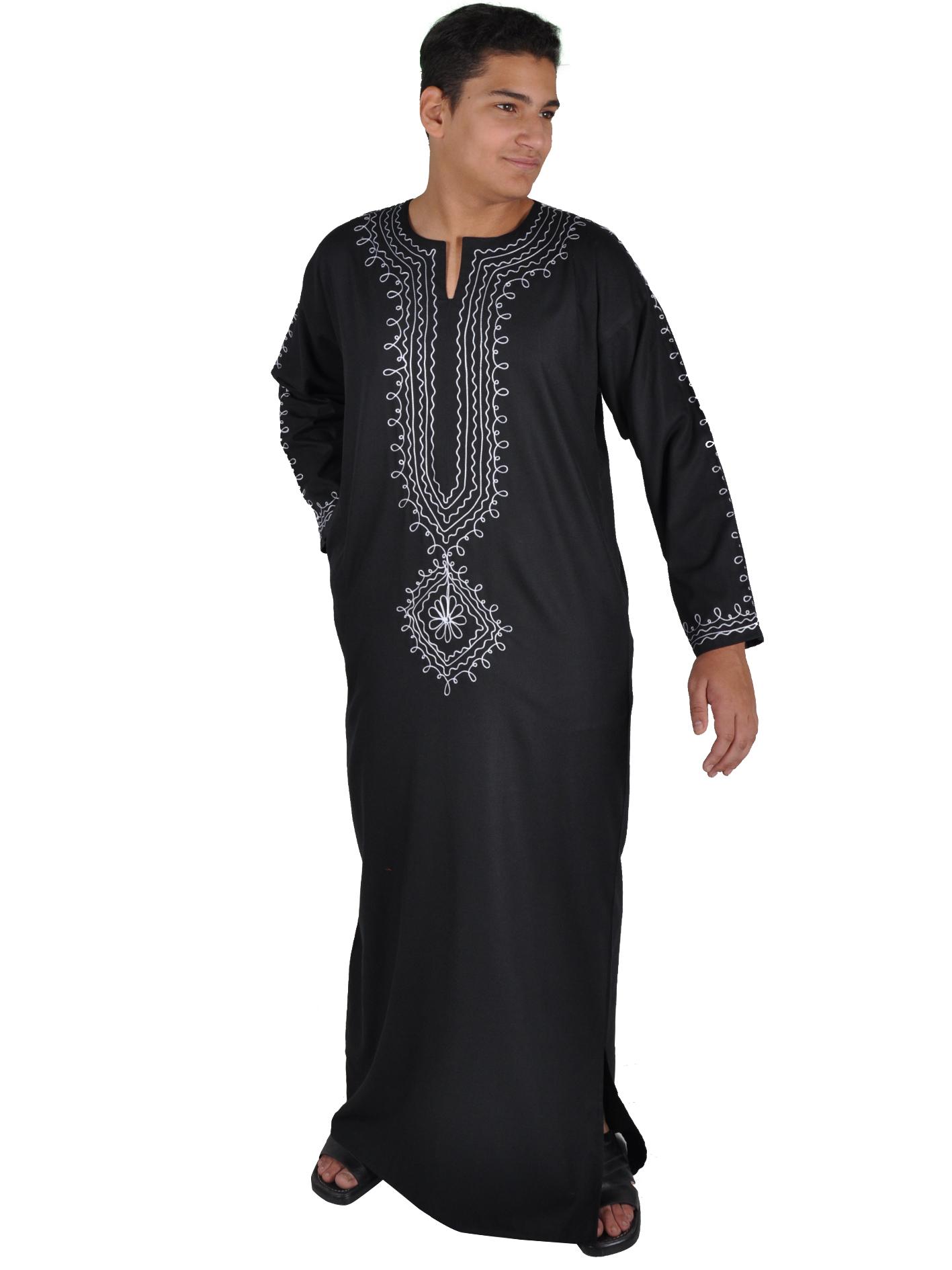 Männer Kaftan - Sommerkleid - Orientalische Männer Kleidung