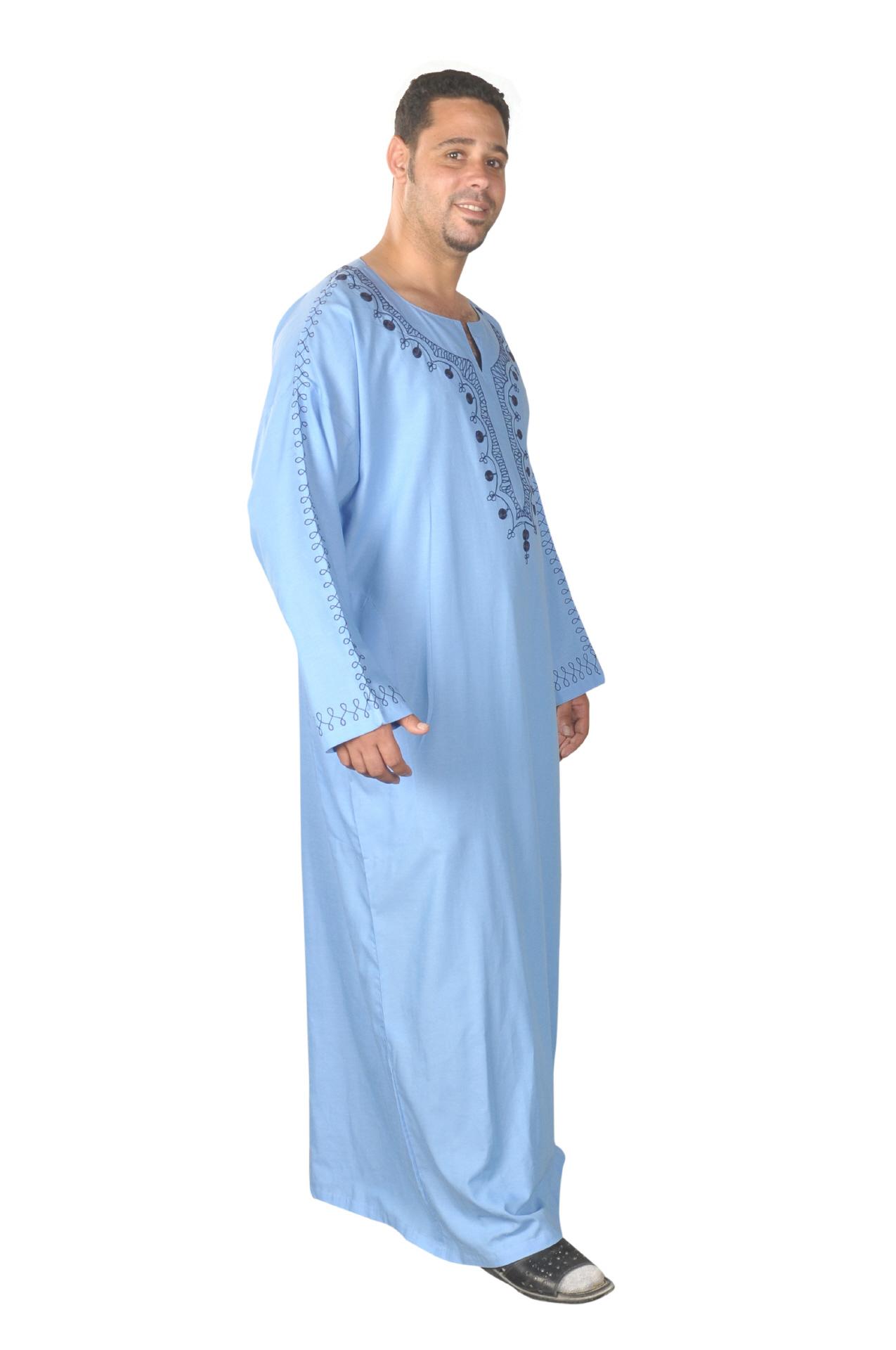 m nner kaftan hauskleid arabische orientalische herren kleidung. Black Bedroom Furniture Sets. Home Design Ideas