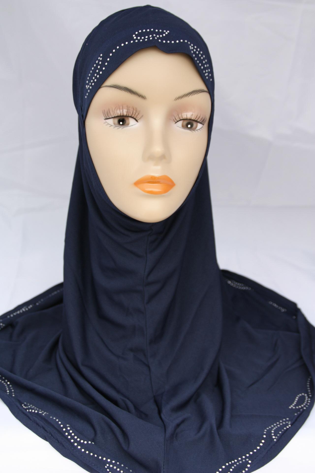 Einteiliges Kopftuch - Hijab - Kopftücher - online kaufen