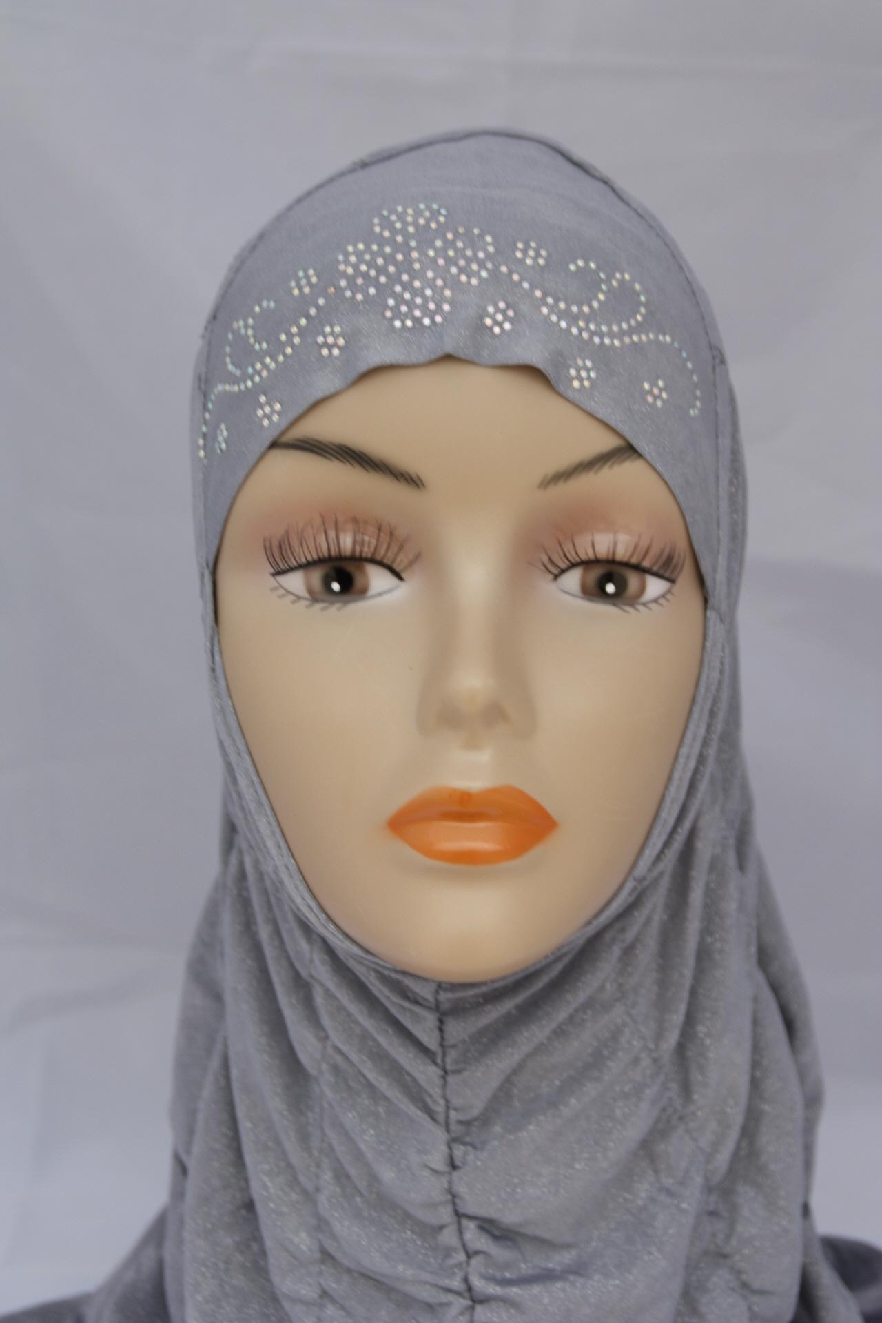 Kopftuch in grau- Kopftücher - online kaufen bei