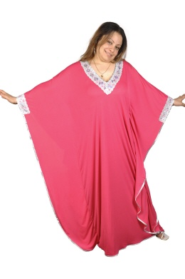 Kaftan Buterfly in pink