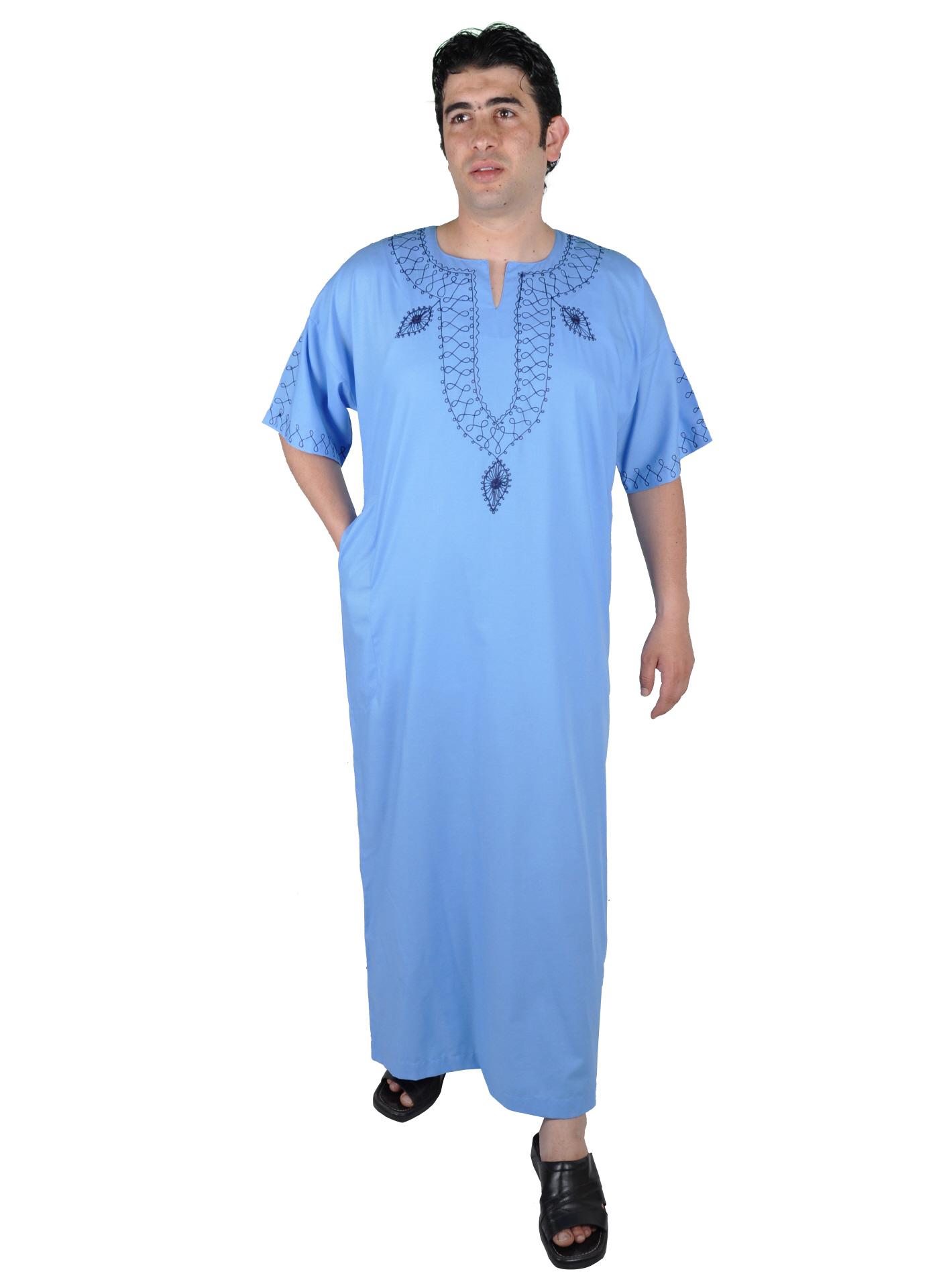 herren kaftan hauskleid orientalische herren bekleidung. Black Bedroom Furniture Sets. Home Design Ideas