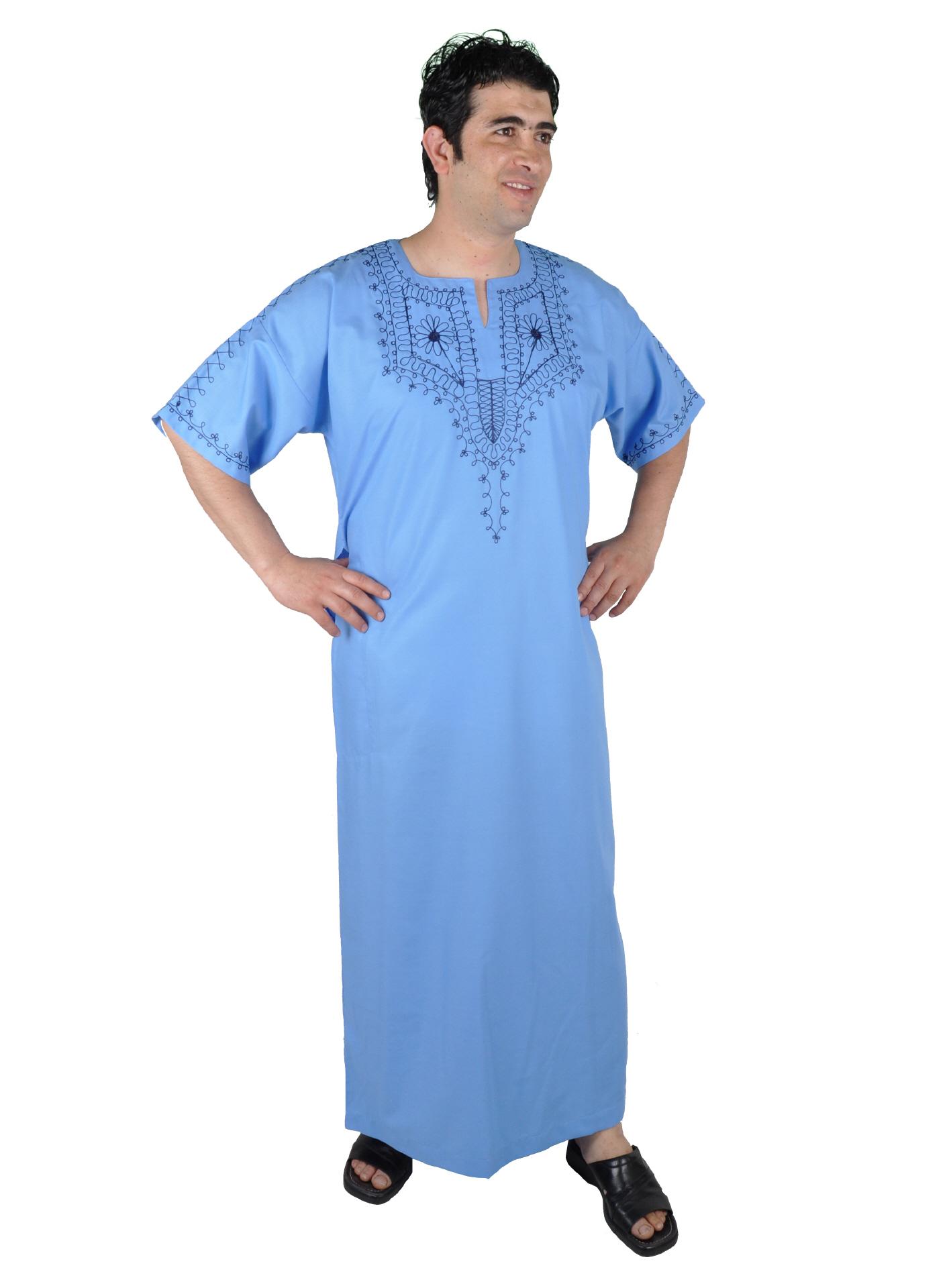 herren kaftan orientalische kleidung kaufen im egypt bazar shop. Black Bedroom Furniture Sets. Home Design Ideas