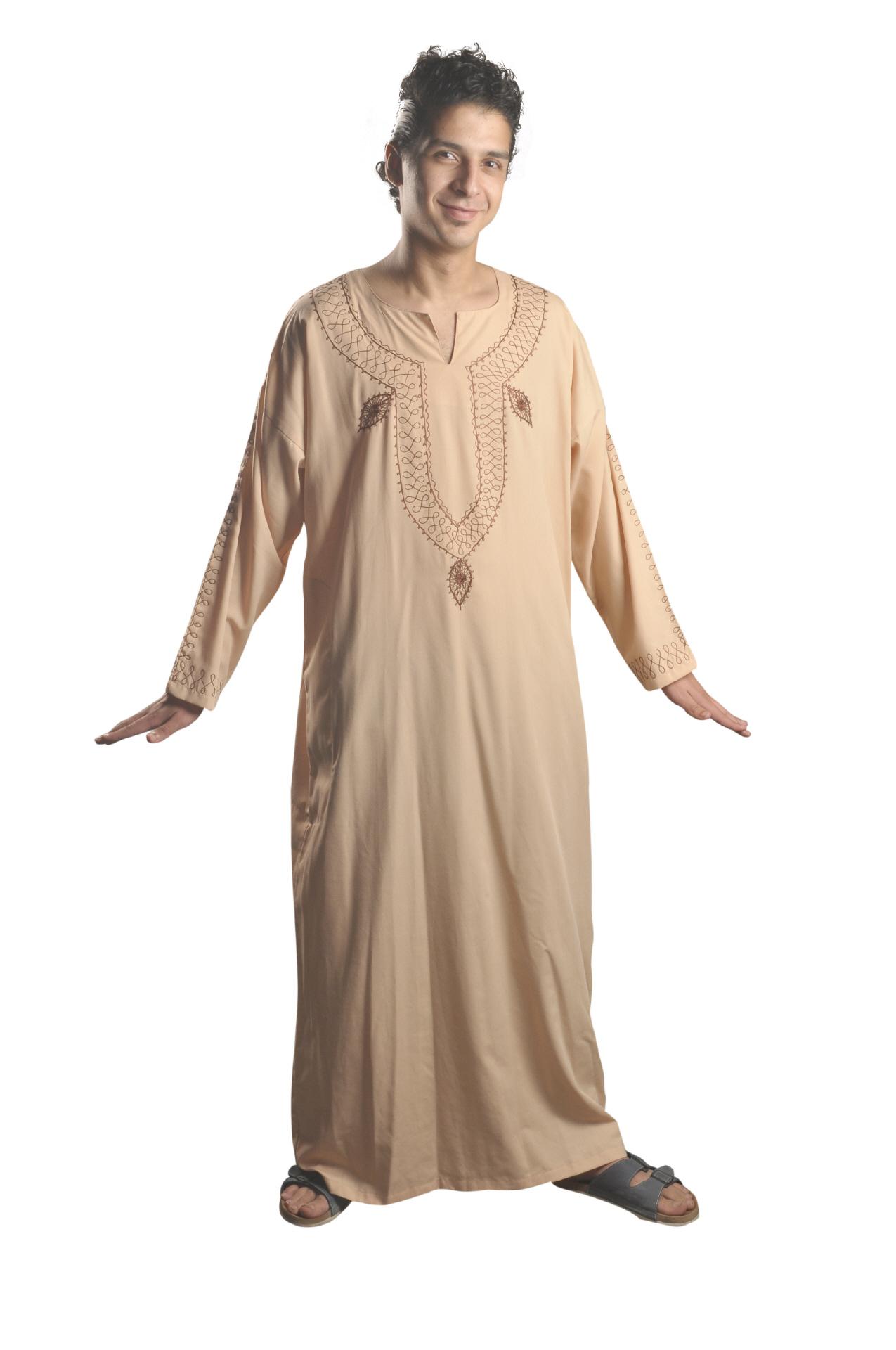 herren kaftan arabische kleidung kaufen im egypt bazar shop. Black Bedroom Furniture Sets. Home Design Ideas