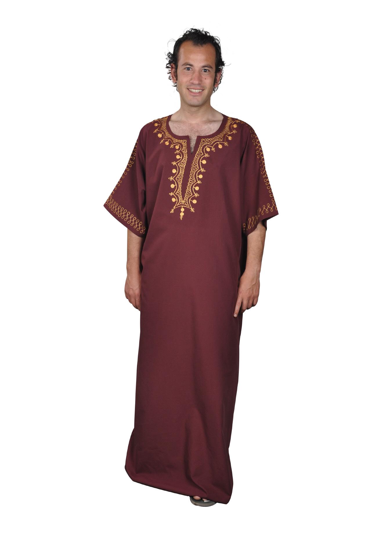 herren kaftan sommerkleid orientalische arabische kleidung