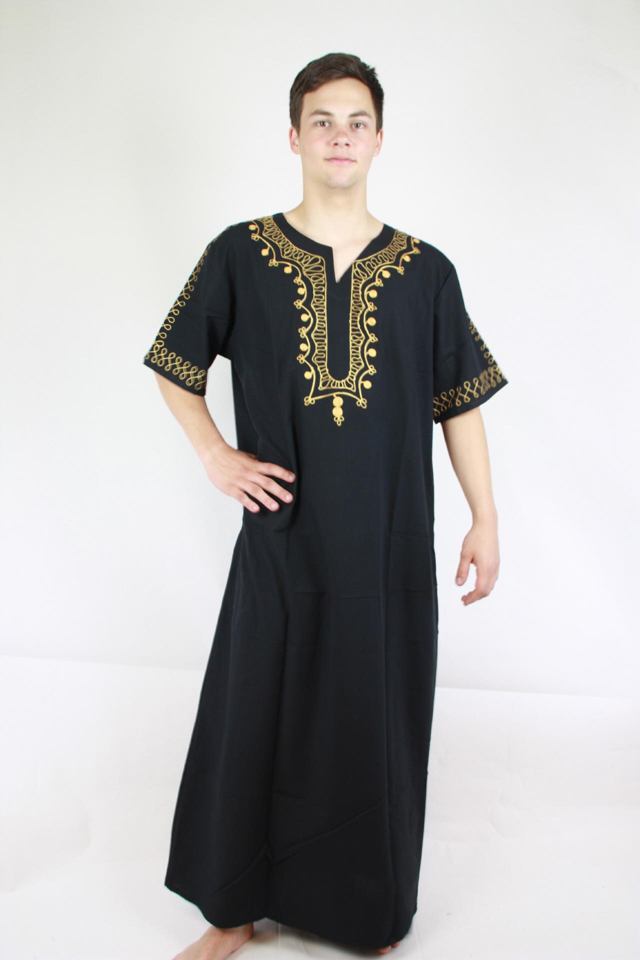Herren kaftan arabische kleidung kaufen im egypt bazar shop - Festliche kleidung herren ...
