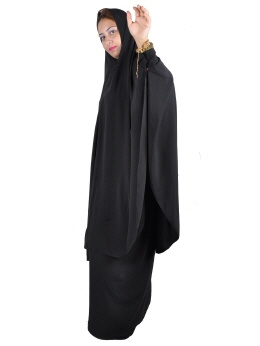 Zweiteiliges Khimar- Rock Set