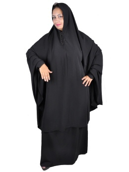 Tscharschaf Set Khimar mit Rock