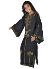 Kinder Kaftan im 70er Look