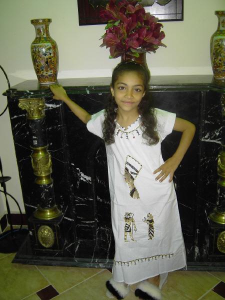 Kinder Kaftan Kinderkostum Pharao Cleopatra Faschingskostum