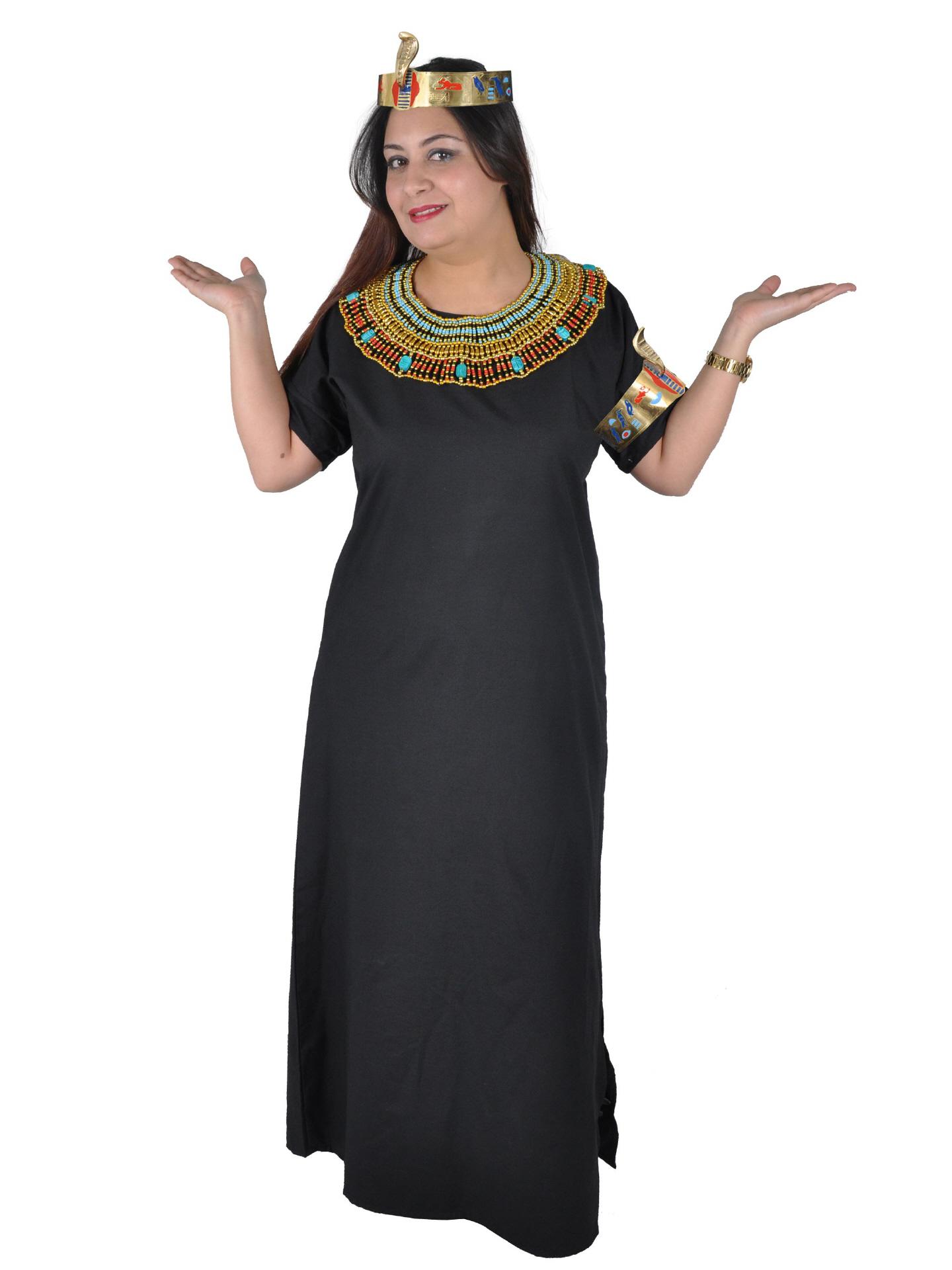 Vierteiliges Pharaonisches Kleopatra Kostum