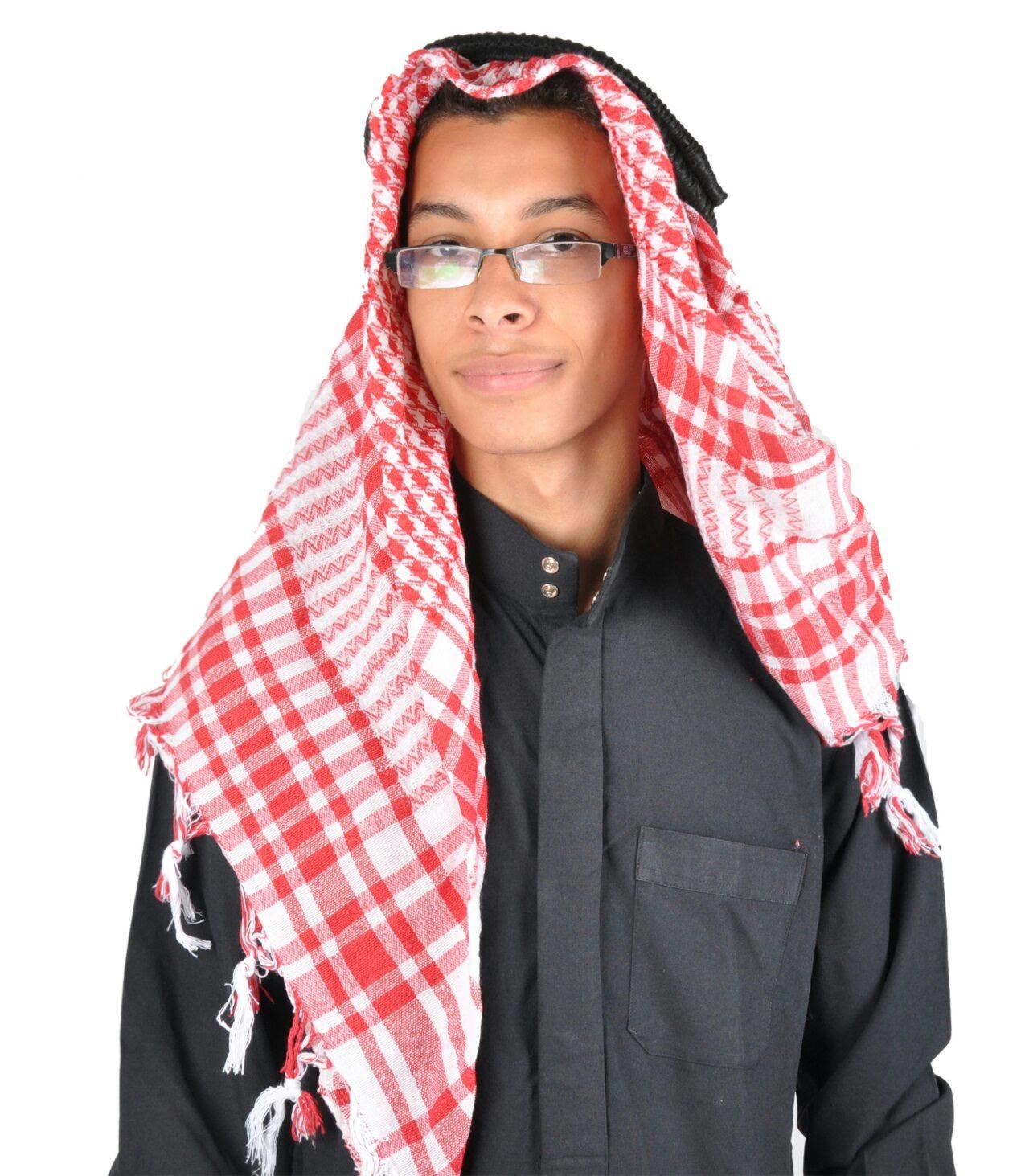 Kopfbedeckung Scheich Arabische Manner Kopfbedeckung Karneval Fasching
