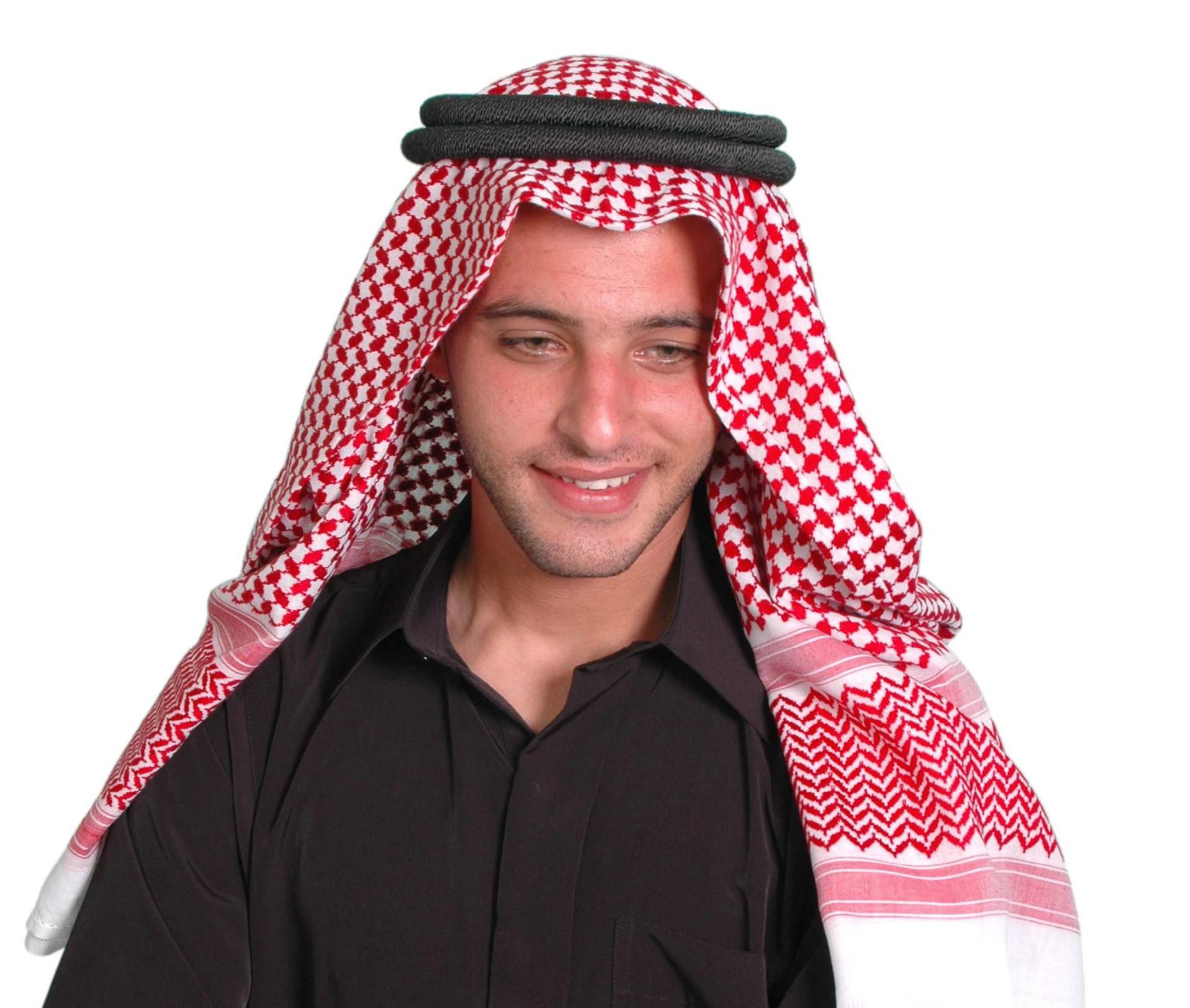 Kopfbedeckung Scheich Arabische Männer Kopfbedeckung