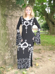 STOCKTANZKLEID-BAUCHTANZKLEID