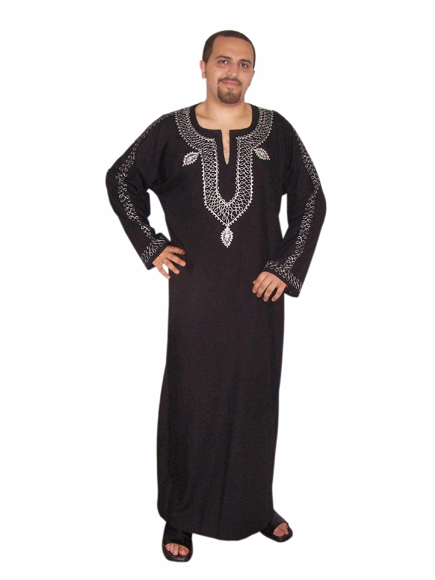 herren kaftan orientalische kleidung mittelalter gewandung. Black Bedroom Furniture Sets. Home Design Ideas