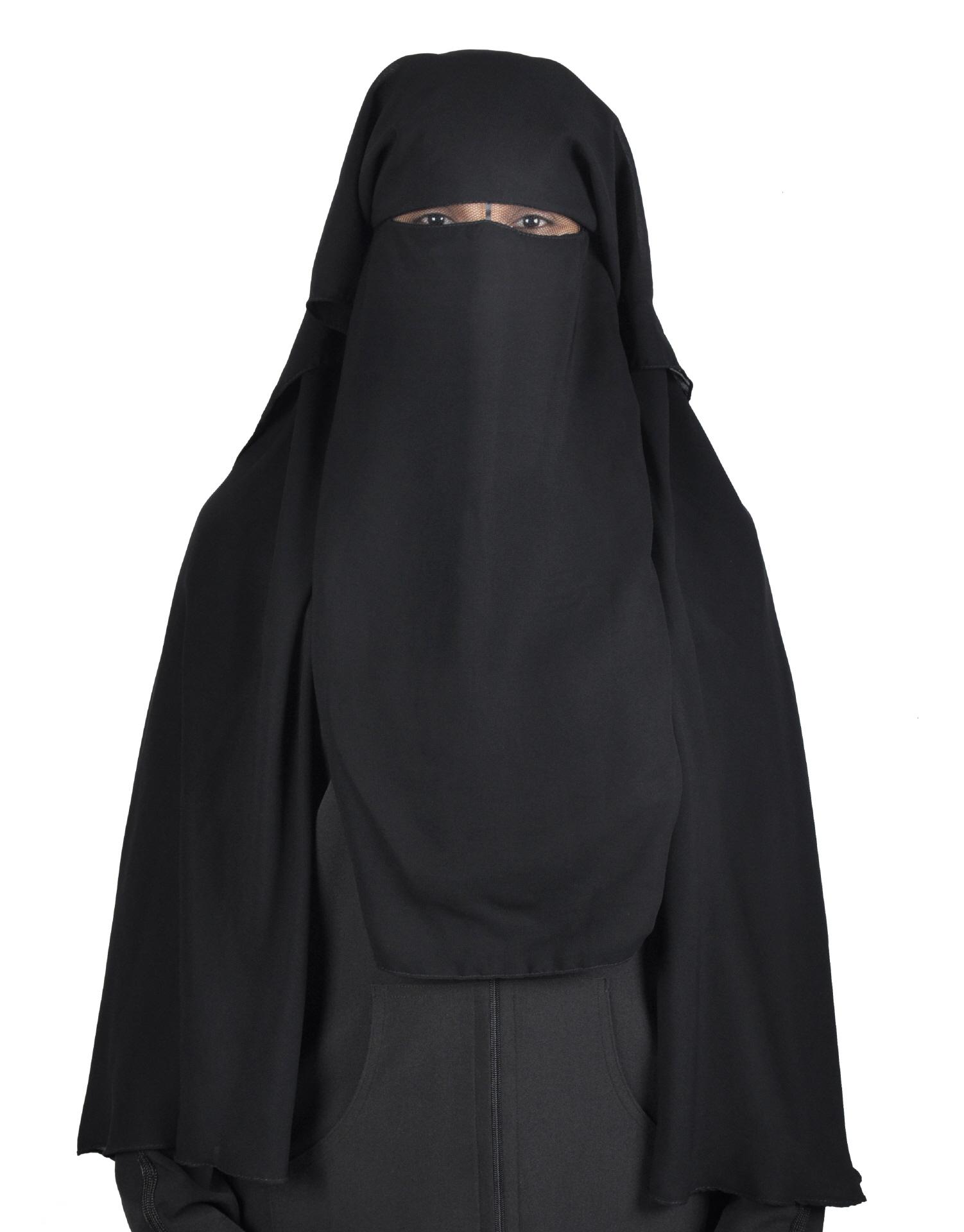 Niqab schwarz Hijab online kaufen- Egypt Bazar Shop