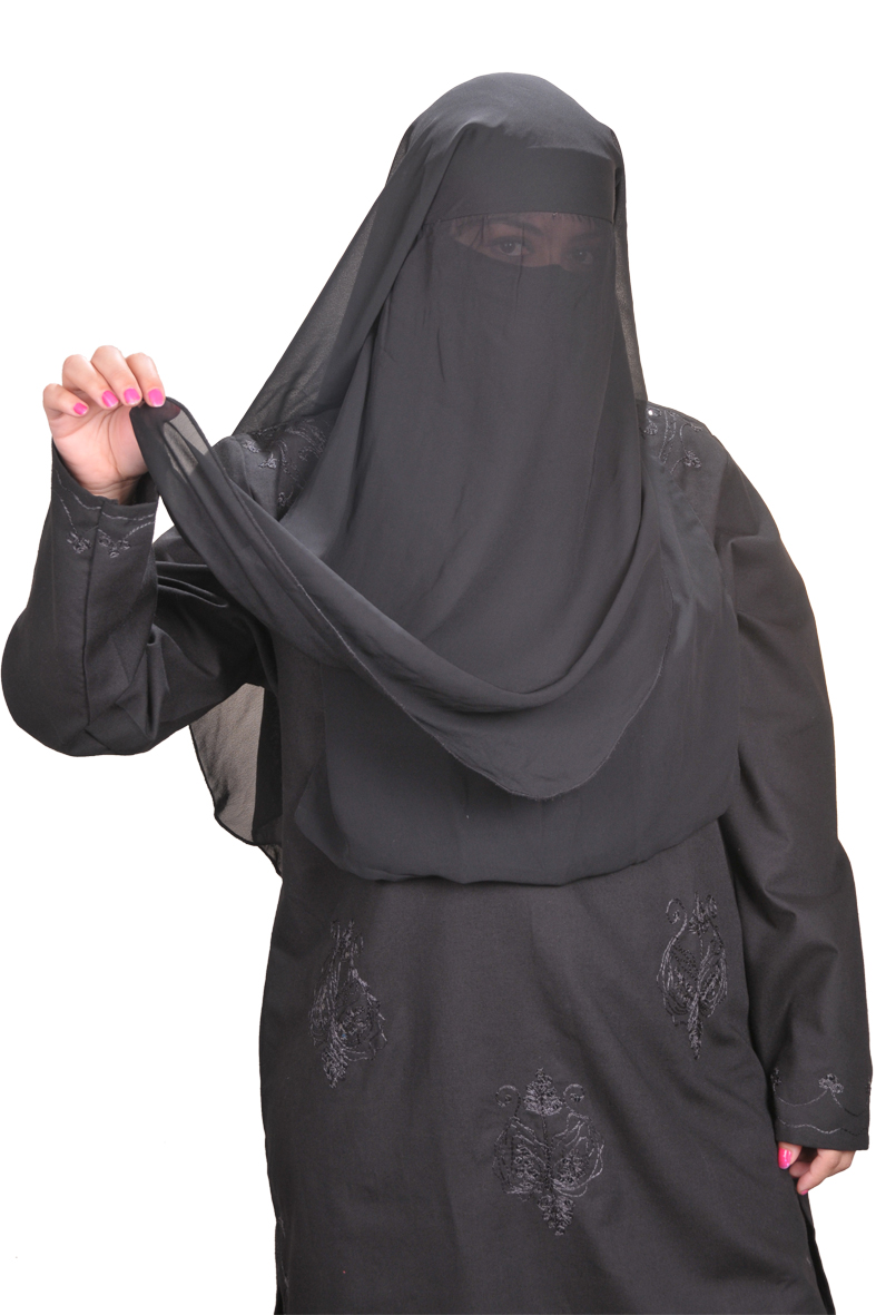 niqab gesichtsschleier schwarz hijab online kaufen egypt bazar shop. Black Bedroom Furniture Sets. Home Design Ideas