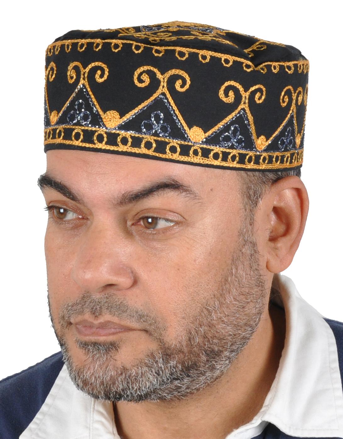 Arabische traditionelle Kopfbedeckungen Turban Hat