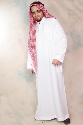 lång arab kostym
