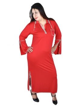 Stocktanzkleid Nancy Ajram in rot